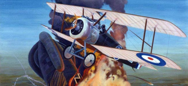 Hailing from Cleveland and Yale, pilot David Ingalls became the first U.S. Navy ace during World War I