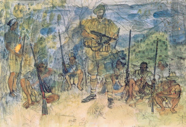 The defense of the 'Admin Box' in the Arakan region of Burma was a turning point that greatly boosted the morale of British and Indian troops.