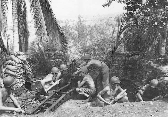 In the early battles for Guadalcanal, U.S. Marines handed the Imperial Japanese Army its first taste of defeat at the Battle of Bloody Ridge.