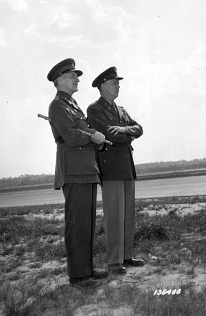 British Field Marshal Sir John Dill, head of his country's military mission in Washington, and U.S. Army Chief of Staff General George C. Marshall forged a great friendship and working relationship.