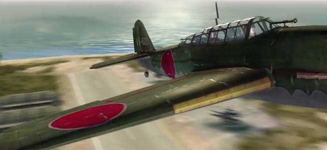 If you're looking for a well-priced downloadable WWII flight game, give City Interactive's Dogfight 1942 a try.