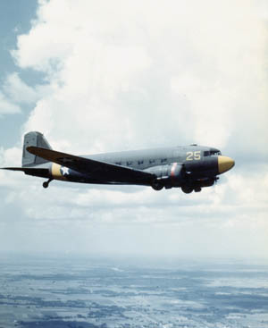 The Douglas C-47 was a workhorse of air transport during World War II.