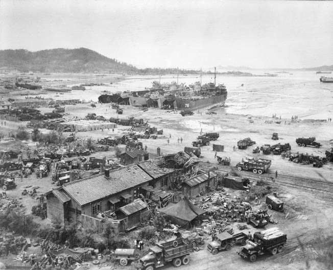During the early days of the Korean War, Douglas MacArthur attempted a daring amphibious Inchon Invasion to retake Seoul.