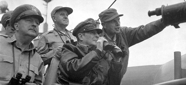 Douglas MacArthur proposed to use atomic bombs to contain China and ultimately win the Korean War.