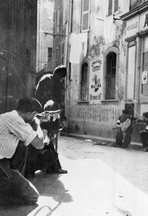 Although lightly armed, a group of Maquis fighters moves in on a German sniper hiding in a coastal town.