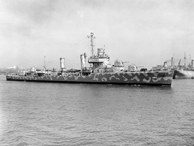 The sole American loss at the Battle of Cape Esperance was the destroyer USS Duncan. Rescue efforts saved nearly 200 of her crewmen, pulling them to safety from shark-infested waters.