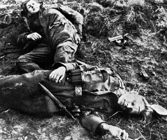 Just as the Americans suffered, the German defenders of the Hürtgen Forest sustained heavy casualties.