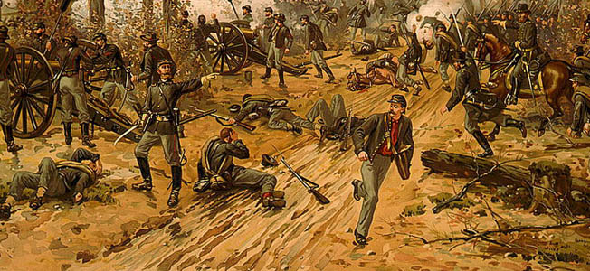 In 1862, the Civil War became deadly serious, and the people of the North and South realized the war would be long and bloody.