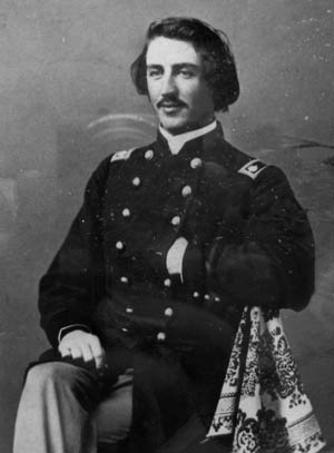Robert McCook's brother, Maj. Gen. Edwin McCook, wounded three times.