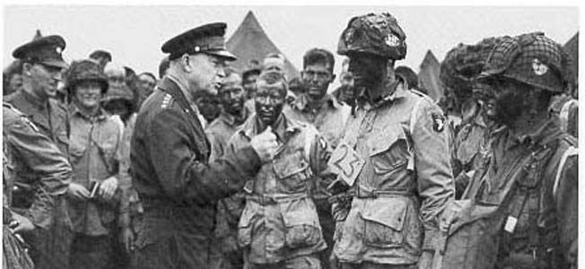 If the Allies did not secure a strong foothold on D-Day, Eisenhower would have been forced to make public the message he drafted for such an occasion.