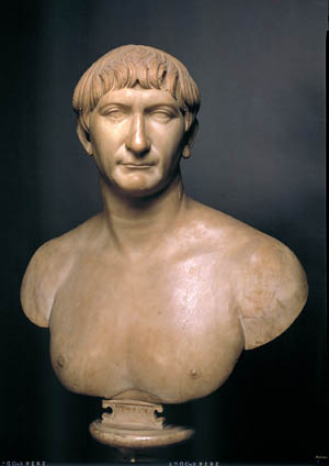 Trajan, Emperor of Rome, was a tough and meticulous general as well as a capable administrator and builder.