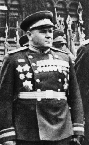 Soviet General Andrei Yeremenko, beleaguered commander of the Stalingrad Front.