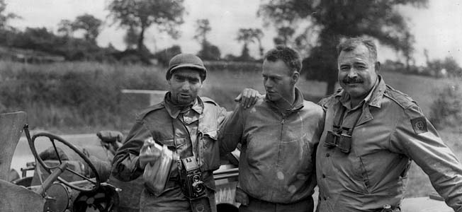 Famed Author Ernest Hemingway Experienced World War II From the Caribbean to D-day's Normandy