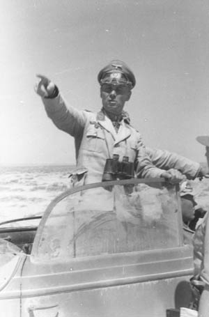 Following his conduct during the battle at Gazala, Field Marshal Erwin Rommel earned his laurels as the 'Desert Fox.'