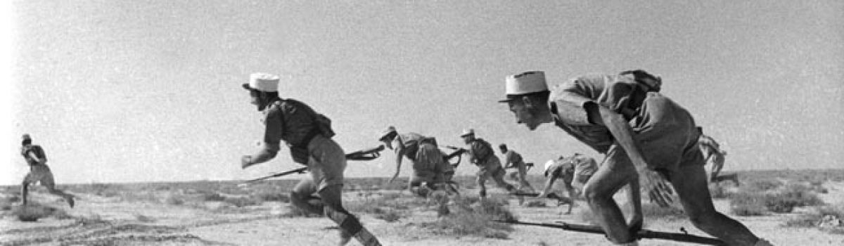 Erwin Rommel Frustrated By French Foreign Legion At Bir Hacheim