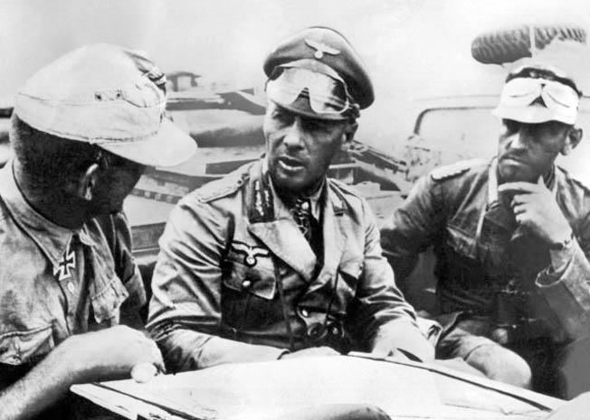 "The ""Good Source"" of Erwin Rommel's high-grade intelligence was, ironically, the U.S. Military Attaché to Egypt, Col. Bonner Fellers of the U.S. Army."