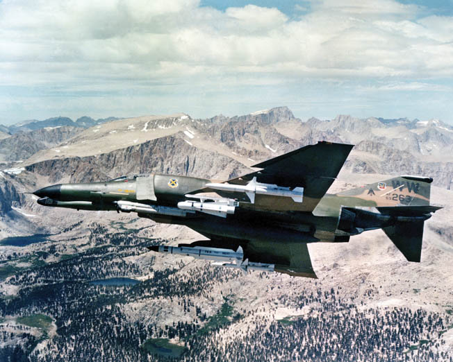 The F-4 Phantom proved capable of destroying SAM sites during the Linebacker operations of 1972 when the North Vietnamese possessed a daunting air-defense network.