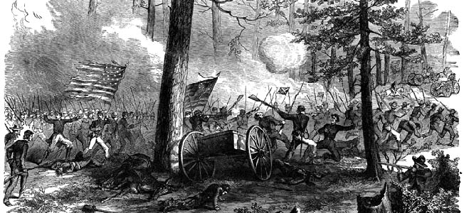 At the Battle of Bentonville, Joseph E. Johnston realized the futility of further fighting William T. Sherman in the war's last major engagement.