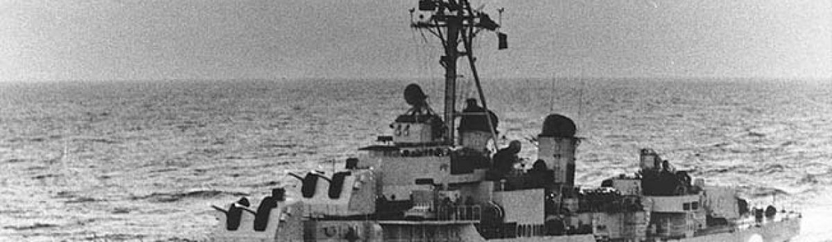 Famous Navy Ships: The USS Maddox