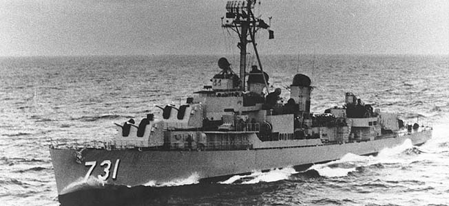 In the wake of the events on August of 1963 near the Gulf of Tonkin, the USS Maddox quickly became a symbol of North Vietnamese aggression.