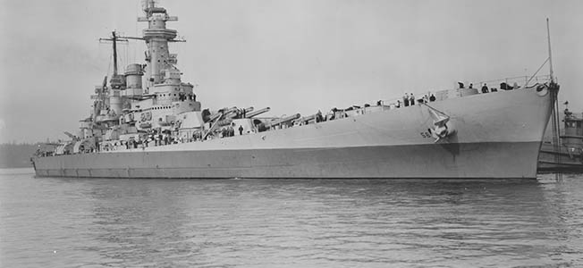 For turning the tide of naval warfare in the Pacific Theater while incurring no casualties in World War II, the USS Washington is one of America's most famous navy ships.