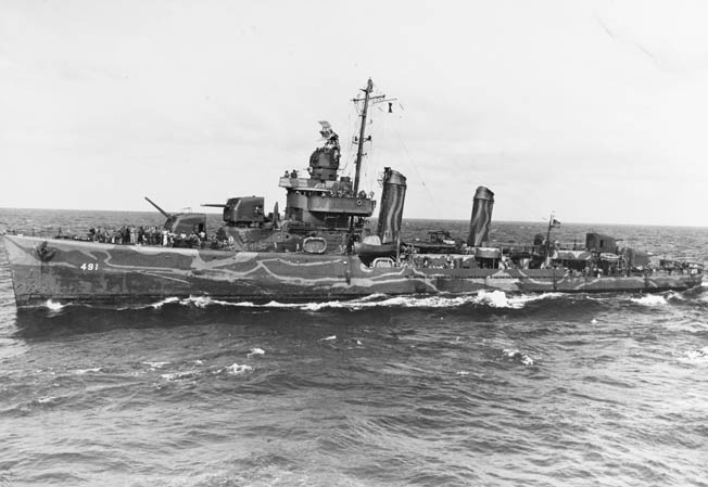 The destroyer USS Farenholt was a victim of friendly fire at the Battle of Cape Esperance. Three crewmen were killed and 43 wounded.