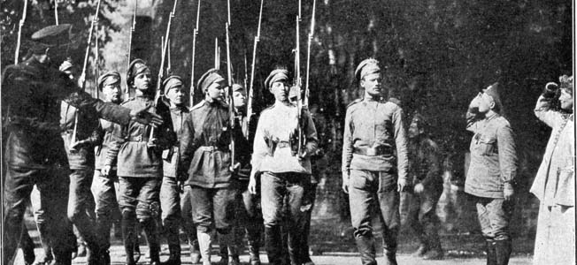 Yasha Botchkareva and the Battalion of Death