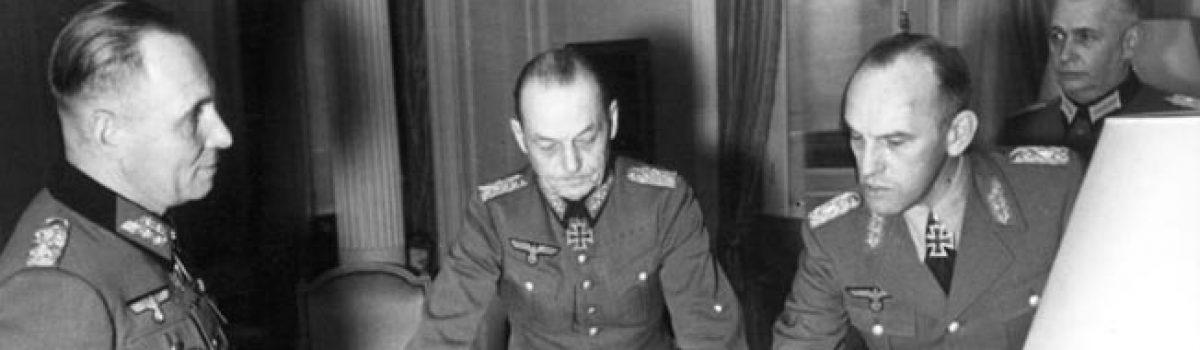 Field Marshals Erwin Rommel & Gerd von Rundstedt