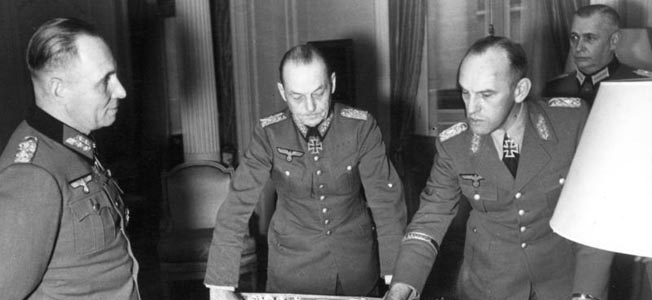Field Marshals Erwin Rommel and Gerd von Rundstedt disagreed on the use of German panzers during the D-Day invasion, but neither position prevailed.