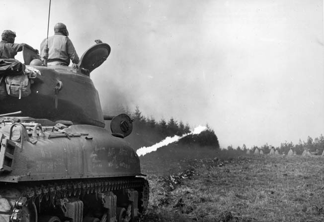 The American-built Sherman medium tank was admittedly inferior to its German opponents. Yet, it won the war in Northwest Europe through shear numbers.