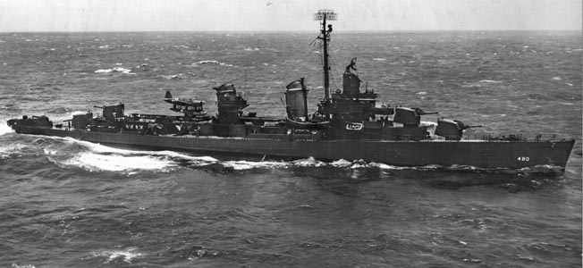 The Fletcher-class destroyer was a workhorse for the U.S. Navy in World War II, but experiments with aircraft aboard were less than satisfactory.The Fletcher-class destroyer was a workhorse for the U.S. Navy in World War II, but experiments with aircraft aboard were less than satisfactory.The Fletcher-class destroyer was a workhorse for the U.S. Navy in World War II, but experiments with aircraft aboard were less than satisfactory.