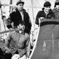 A crafty captain worked to free his cargo ship after its seizure by the Germans on the high seas.