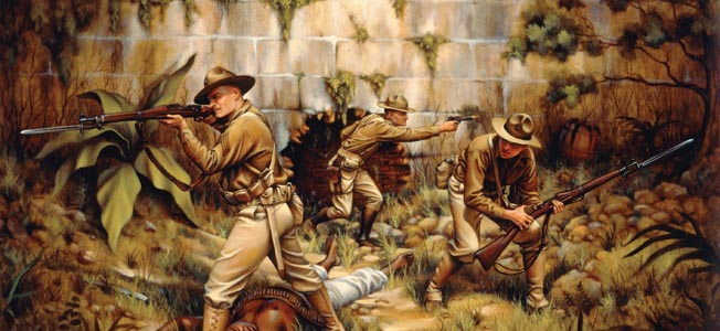 American infantrymen carried the model 1903 Springfield rifle into battle with them for the first seven decades of the 20th century.