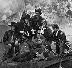 With a plethora of colorful nicknames, alcohol was widely abused in both Union and Confederate armies during the Civil War.