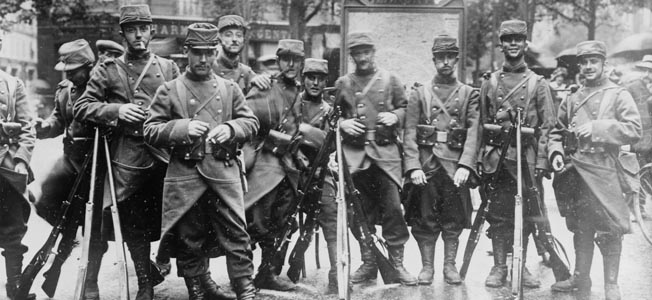 France concluded World War I's Triple Entente with Great Britain and Russia in response to the threat of German imperialism across the continent.