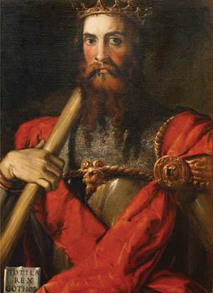 Ostrogoth King.