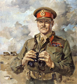 "Maj. Gen. Bernard ""Tiny"" Freyberg, commander of British and Commonwealth forces on Crete (""Creforce""), was over six feet tall and solidly built, hence his sobriquet. He earned a Victoria Cross during World War I."