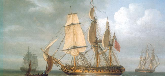 The swift and sure steeds of the fighting sail fleet were its dashing and highly armed frigates.