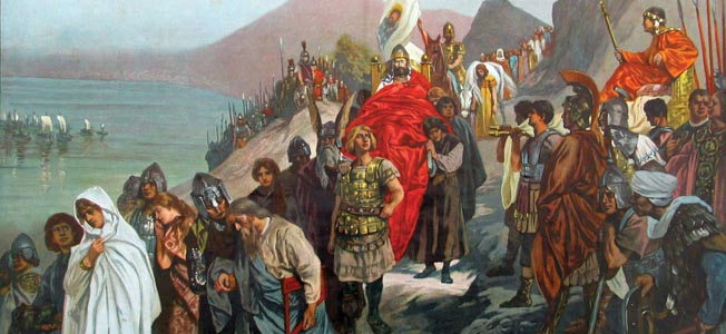 Narses the Eunuch restored Byzantine control of central Italy and in the process proved to be one of the greatest generals of Late Antiquity.