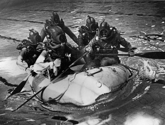 British Frogmen practiced hard for their vital D-Day Mission