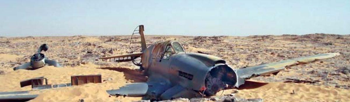 From Sahara's Heart: Unearthing A Curtiss P-40 Kittyhawk