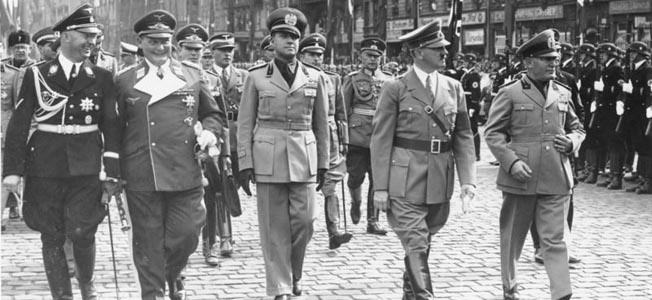 Hitler quashed the rescue of Count Galeazzo Ciano from Fascist execution, allowing the publication of his controversial diaries.