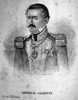 General Gabriel Valencia.