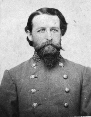 General John R. Cooke (J.E.B. Stuart's brother-in-law). Cooke was wounded in the battle.
