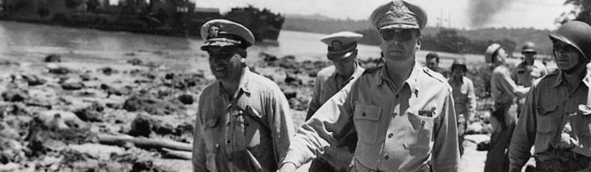 General Douglas MacArthur's Navy