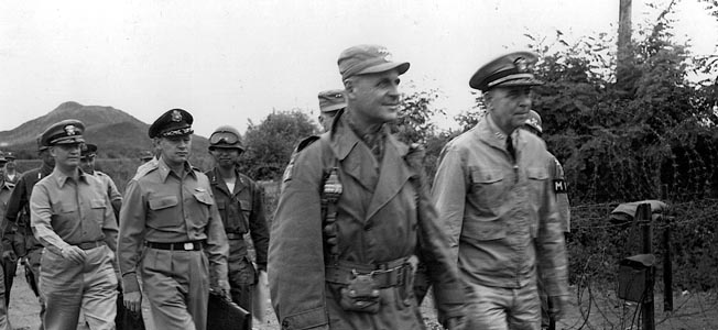 Matthew B. Ridgway arrived at the nadir of the Korean War and saved the U.S./UN effort with his courageous actions.