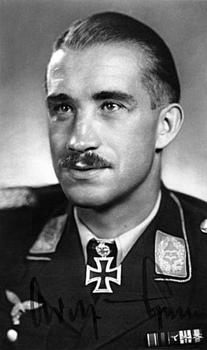 Determination and drive helped make young German pilot Adolf Galland an ace and General.