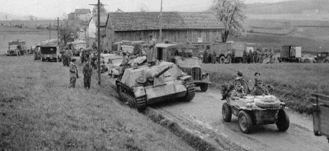 In the closing days of World War II, the German 11th Panzer Division took an unconventional road to surrender.