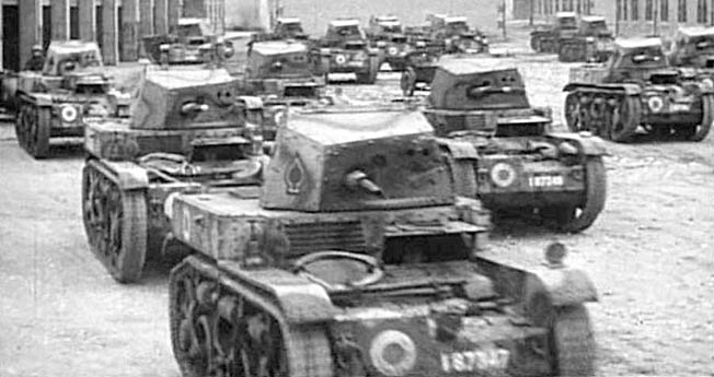 Despite running an organized and effecient army, Adolf Hitler's war machine couldn't quite compete with the Allies when it came to the factory.