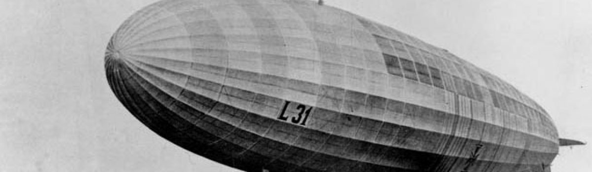 German Zeppelins: Terrorizing The British And RAF During WW1